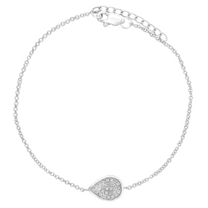 Picture of Lali 14K White Gold Diamond Bracelet