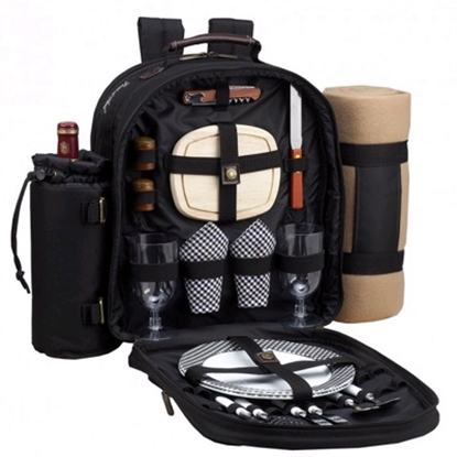 Picture of Picnic at Ascot™ Backpack for 2&Blanket-Gingham