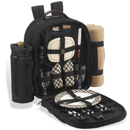 Picture of Picnic at Ascot™ Backpack for 2 & Blanket -Plaid