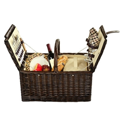 Picture of Picnic at Ascot™ Surrey Picnic Basket for Two