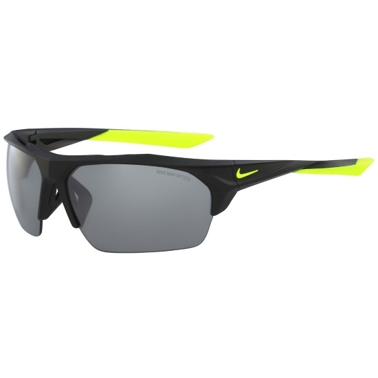 Picture of Nike Terminus- Matte Black/Volt/Grey with Silver Mirror Lenses