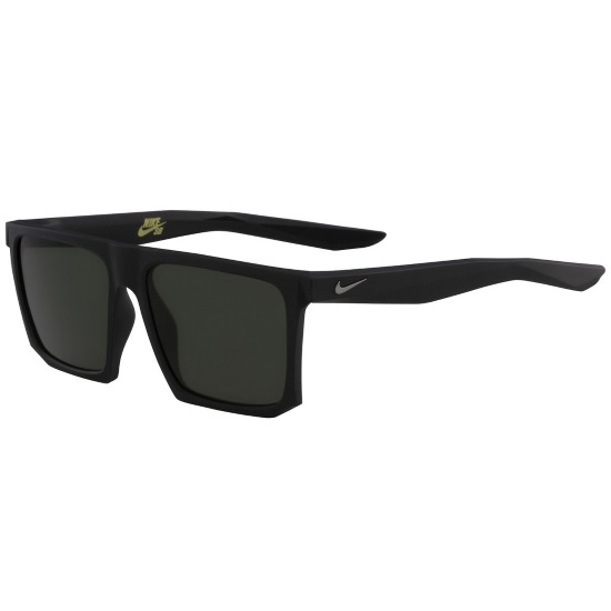 8f10fe86a0720 Picture of Nike Ledge Sunglasses - Matte Black Gunmetal with Green Lenses