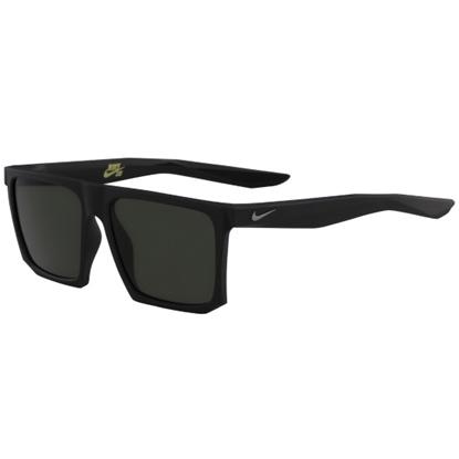 Picture of Nike Ledge Sunglasses - Matte Black/Gunmetal with Green Lenses