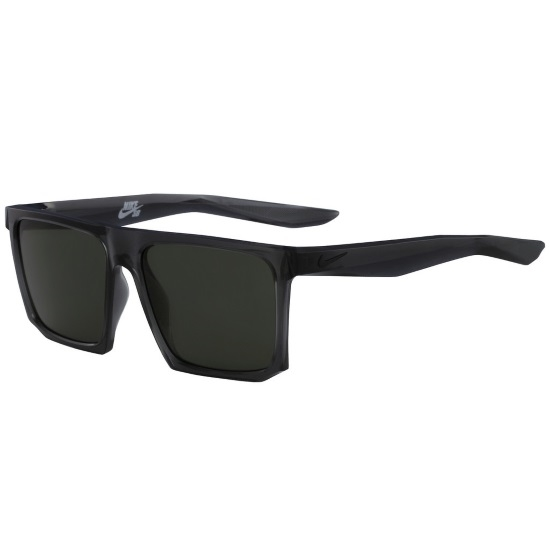 Picture of Nike Ledge Sunglasses - Anthracite/Black with Green Lenses