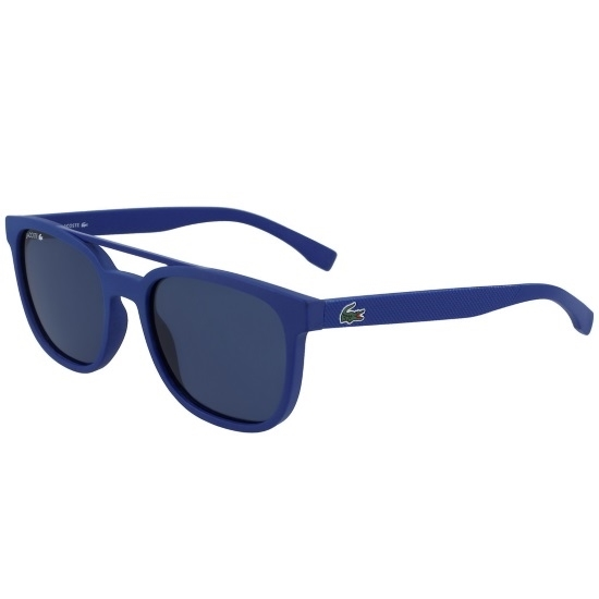 Picture of Lacoste Men's Rectangular Sunglasses - Matte Navy Blue