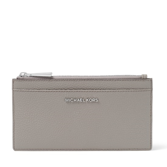 Picture of Michael Kors Large Slim Card Case - Pearl Grey