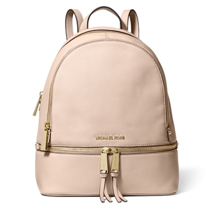 Picture of Michael Kors Rhea Zip Medium Backpack - Soft Pink