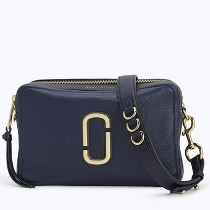 Picture of Marc Jacobs Softshot 27 Crossbody - Navy