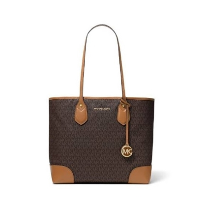 Picture of Michael Kors Eva Signature Large Tote