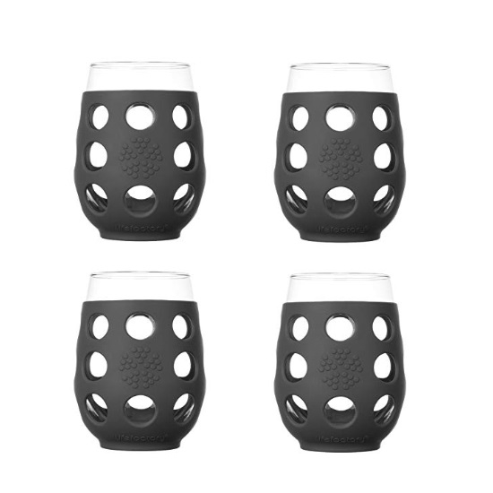 Picture of Life Factory® Set of 4 Wine Glasses