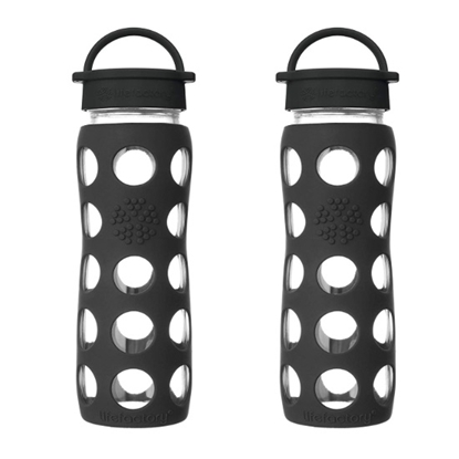 Picture of Life Factory® Set of 2 Glass Bottles