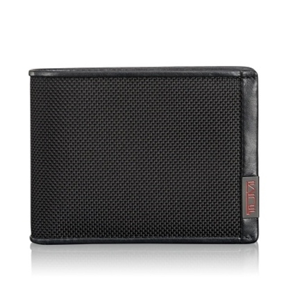 Picture of Tumi Alpha Double Billfold with ID Lock - Black