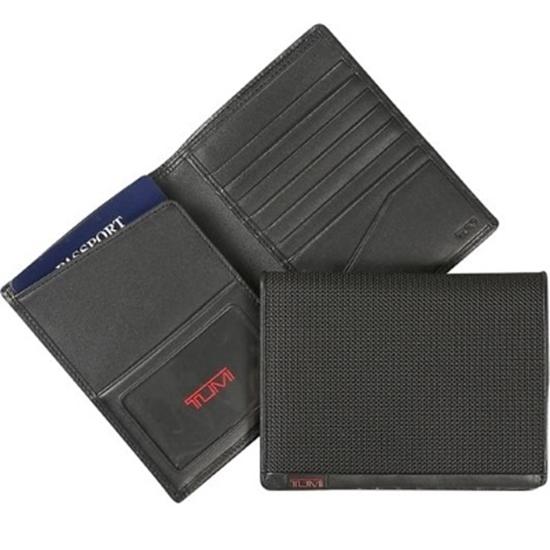 Picture of Tumi Alpha Passport Case - Black