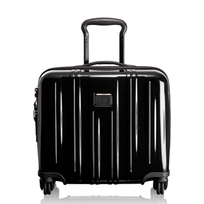 Picture of Tumi V3 Compact Carry-On 4-Wheel Briefcase - Black