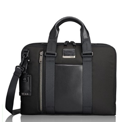 Picture of Tumi Alpha Bravo Aviano Slim Brief - Black