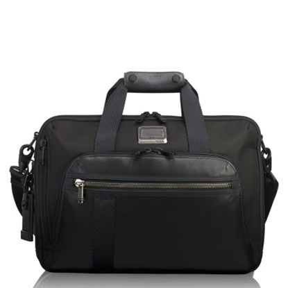 Picture of Tumi Alpha Bravo Mountain 3-Way Brief - Black