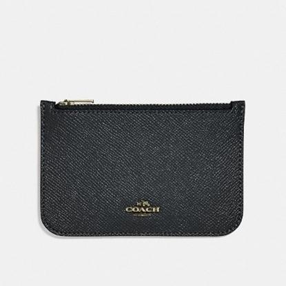 Picture of Coach Zip Card Case - Black