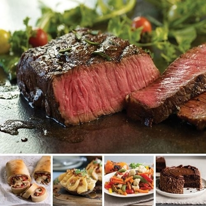 Picture of Omaha Steaks® Private Reserve Top Sirloin Dinner