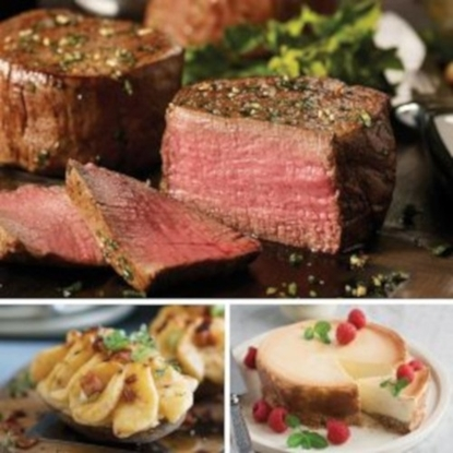 Picture of Omaha Steaks® Filet Mignon, Potatoes & Cheesecake