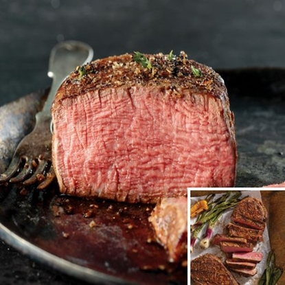 Picture of Omaha Steaks® Filet Mignons and Boneless Strips