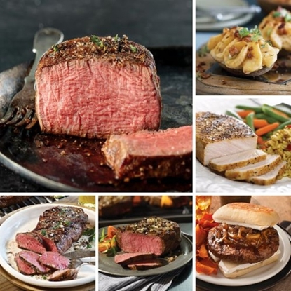 Picture of Omaha Steaks® The Golden Masterpiece