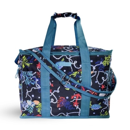 Picture of Vera Bradley Insulated Cooler Bag - Shore Thing