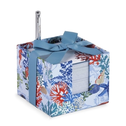 Picture of Vera Bradley Notecube with Pen - Shore Thing