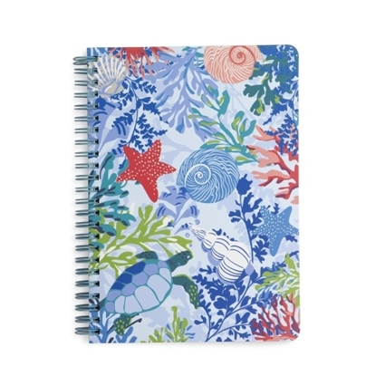 Picture of Vera Bradley Mini Notebook with Pen - Shore Thing