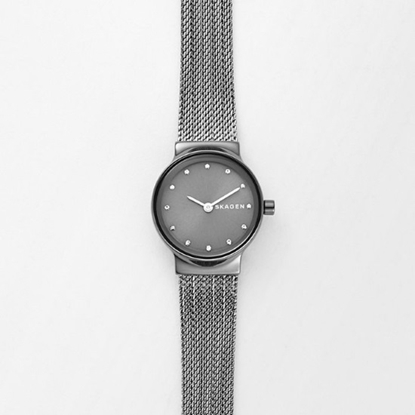 Picture of Skagen Freja Grey Stainless Steel Mesh Watch