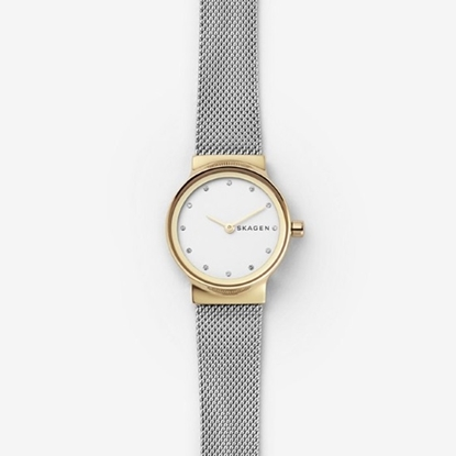 Picture of Skagen Ladies' Freja Silver-Tone Stainless Steel Mesh Watch
