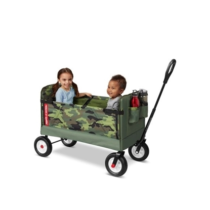 Picture of Radio Flyer® 3-in-1 Off-Road EZ Fold Wagon® - Camo