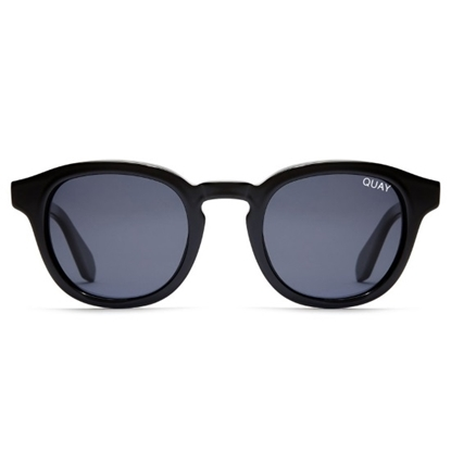 Picture of QUAY Men's Walk On Sunglasses - Black/Smoke