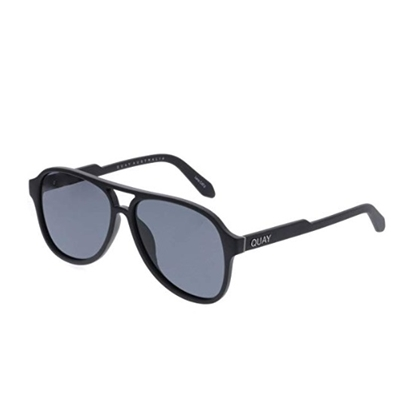 Picture of QUAY Men's Magnetic Sunglasses - Black/Smoke