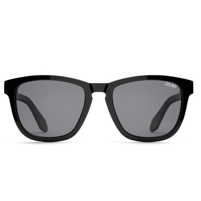 Picture of QUAY Men's Hardwire Sunglasses - Black/Smoke