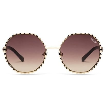 Picture of QUAY Breeze In Sunglasses - Gold/Brown