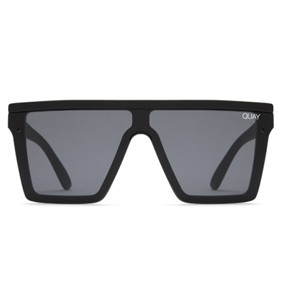 Picture of QUAY Hindsight Sunglasses - Black/Smoke