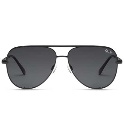 Picture of QUAY High Key Sunglasses - Black/Smoke