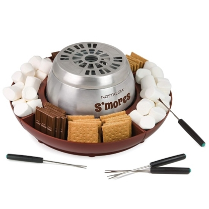 Picture of Nostalgia Electrics Lazy Susan Electric S'mores Maker