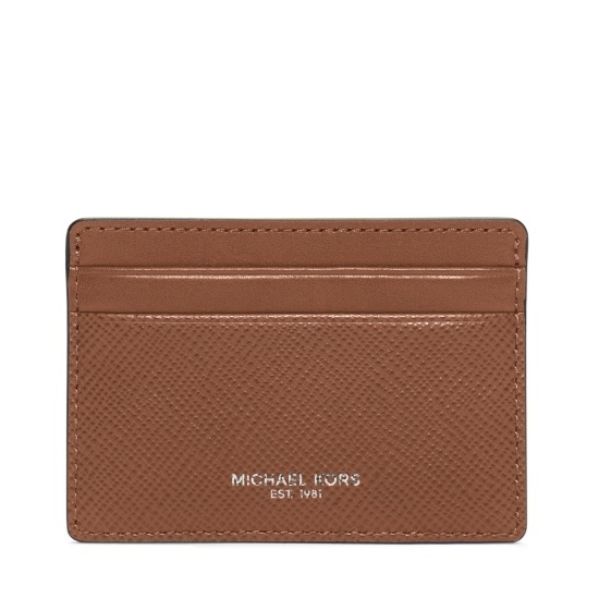 Picture of Michael Kors Harrison Card Case - Luggage