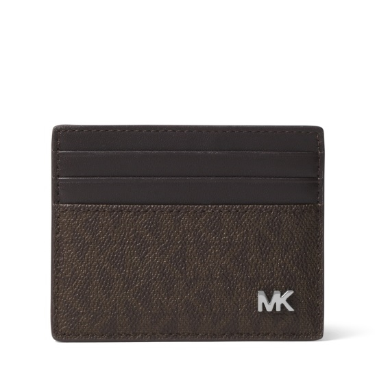 Picture of Michael Kors Jet Set Men's Tall Card Case - Brown