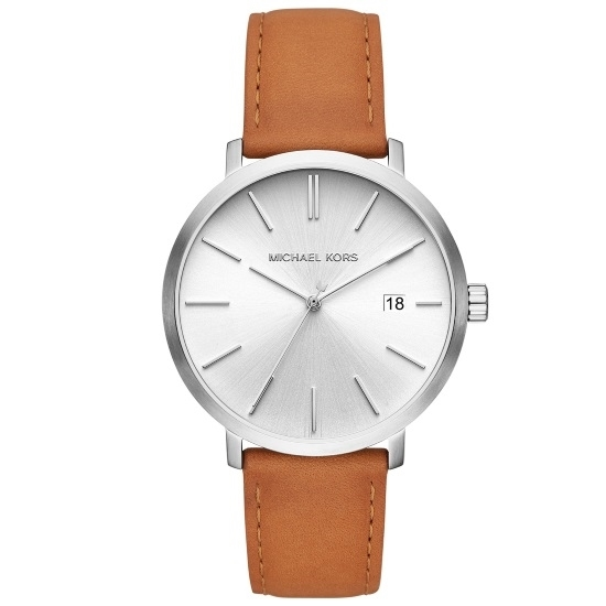 Picture of Michael Kors Men's Blake Luggage Leather Strap Watch