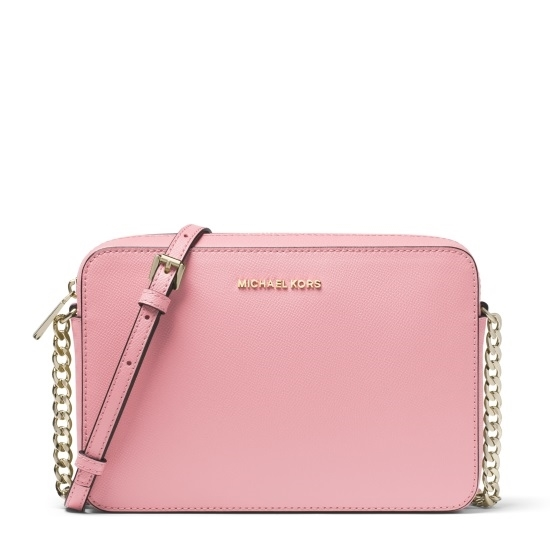 Picture of Michael Kors Large E/W Crossbody - Carnation