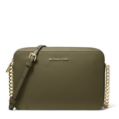 Picture of Michael Kors Large E/W Crossbody - Olive