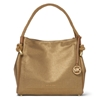Picture of Michael Kors Isla Large Grab Bag - Pale Gold