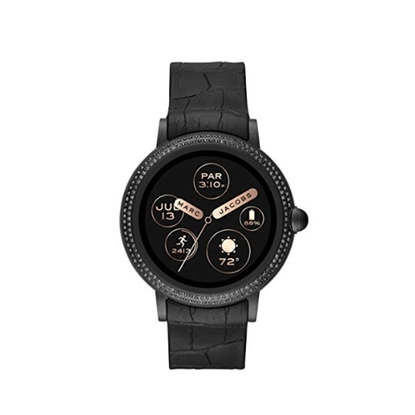 Picture of Marc Jacobs Riley Black Silicone Smartwatch