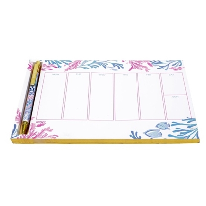 Picture of Lilly Pulitzer Weekly Desk Pad & To Do Planner - Kaleidoscope