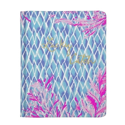 Picture of Lilly Pulitzer Concealed Spiral Journal - Kaleidoscope Coral