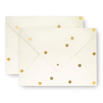 Picture of Kate Spade Envelope Folios - Gold Dot