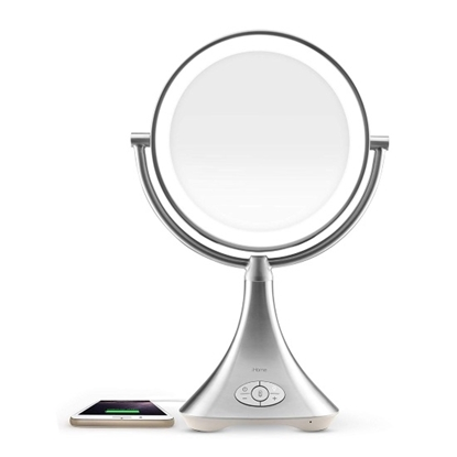 Picture of iHome Lux Rechargeable Vanity Mirror with Speaker