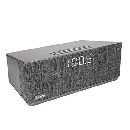 Picture of iHome Bluetooth Alarm Clock with FM Radio & 2 USB Ports